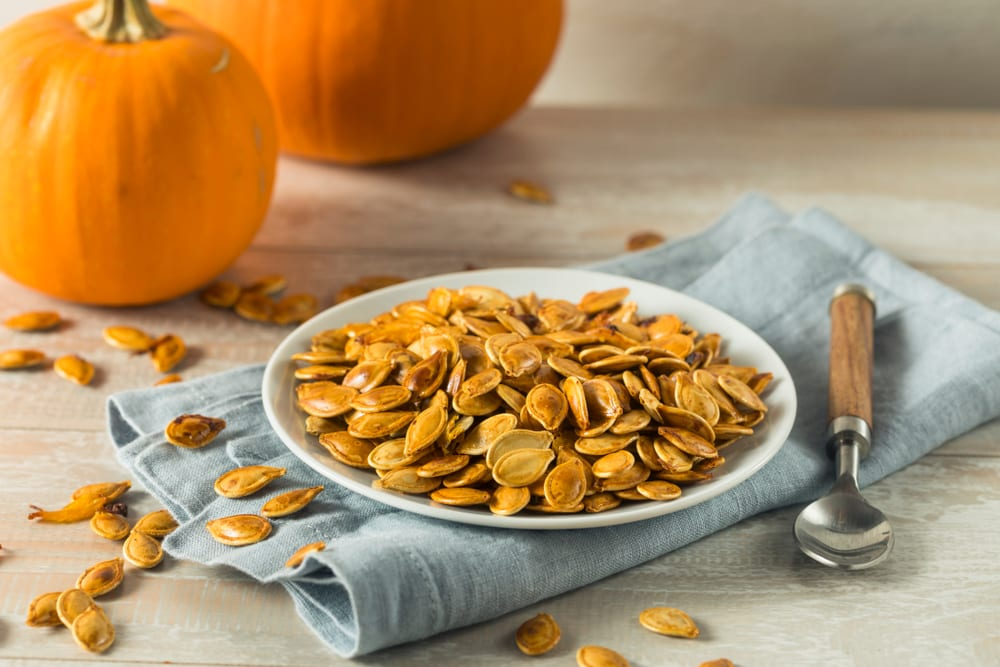 Most Creative Uses for Your Pumpkins - Create a classic pumpkin seed dish