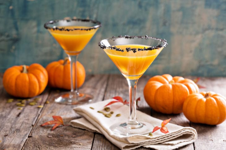 Most Creative Uses for Your Pumpkins - Pumpkin Cocktail