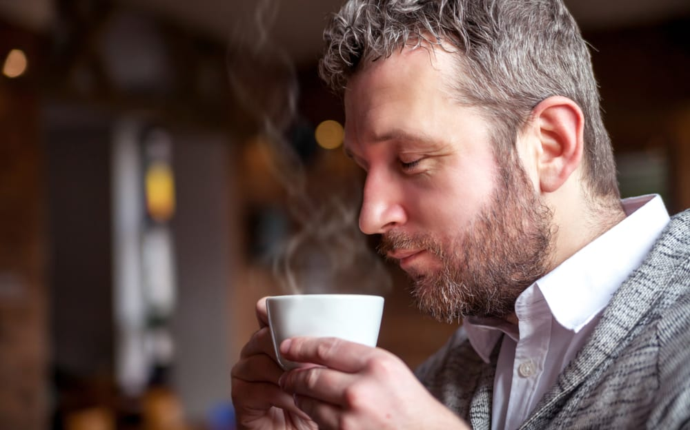 Most Common Reasons Why We Love Coffee - coffee aromatic smell awakens senses