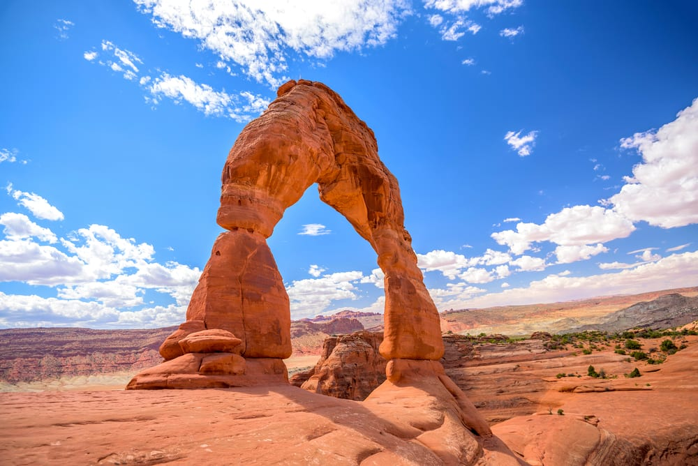 Rarest Rocks - Delicate Arch in the USA