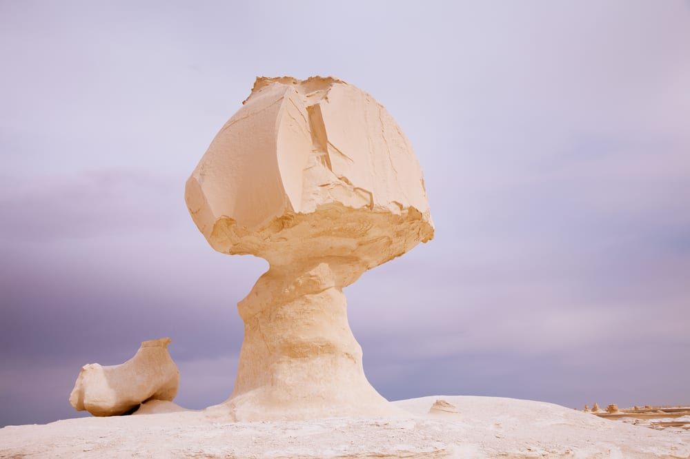 Rarest Rocks - Mushroom Rocks in Egypt