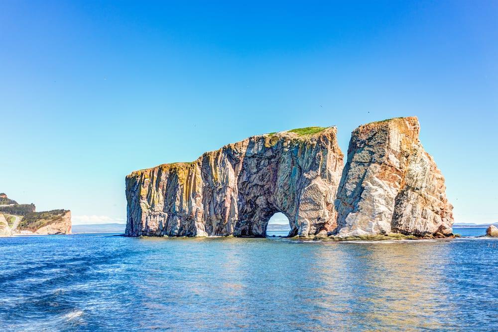 Rarest Rocks - Perce Rock in Canada