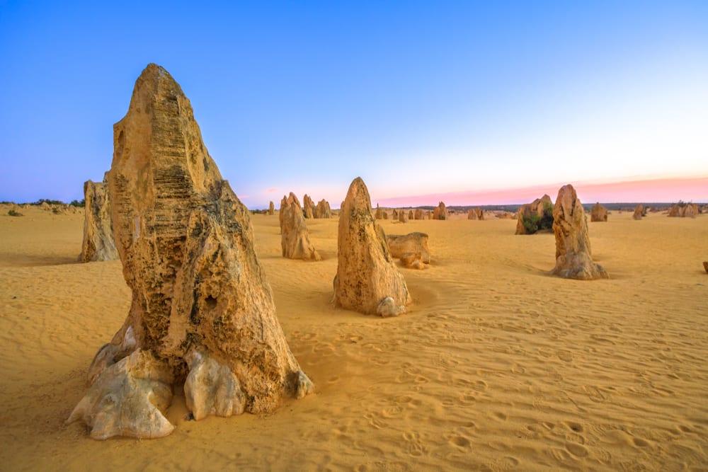 Rarest Rocks - Pinnacles in Australia