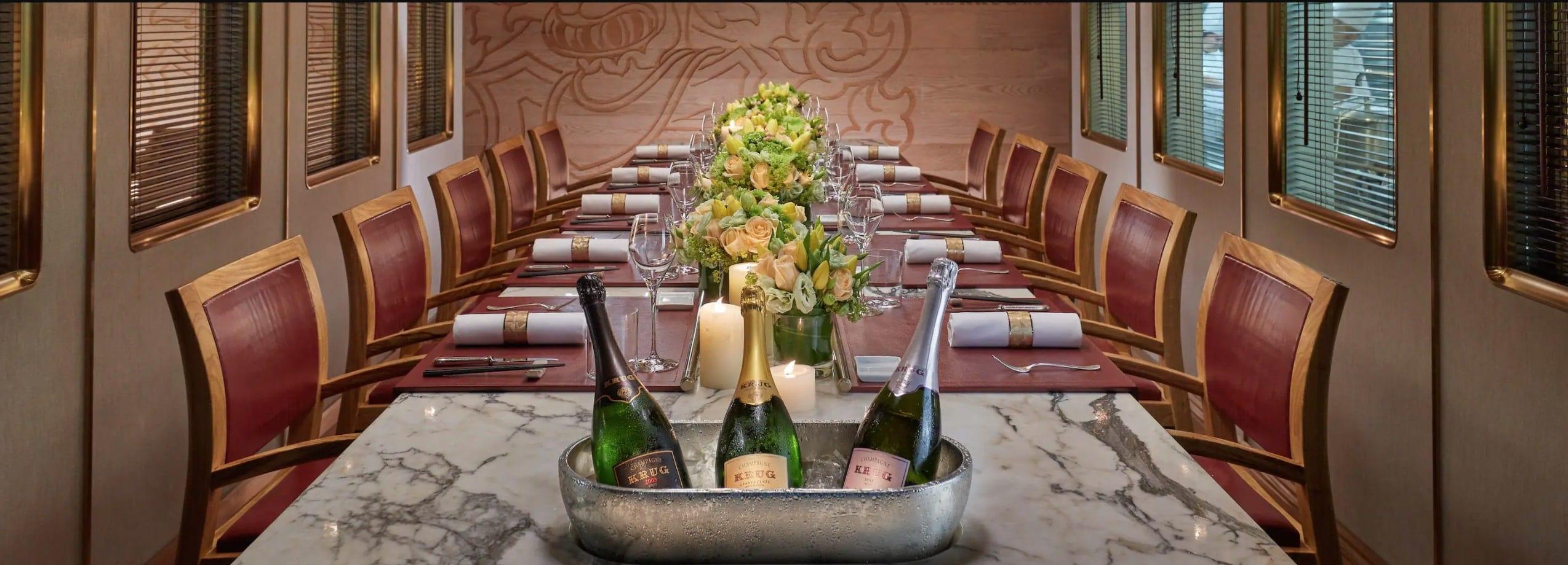 Most Expensive Restaurants - The Krug Room