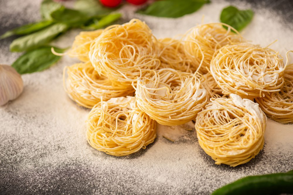 Most Popular Pasta Shapes - Capellini