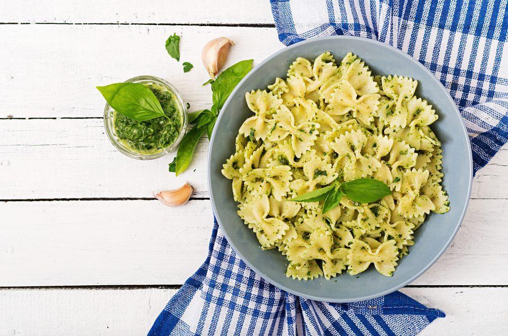 Most Popular Pasta Shapes - Farfalle