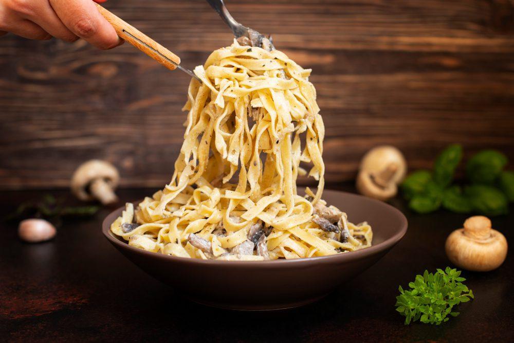 Most Popular Pasta Shapes - Fettuccine