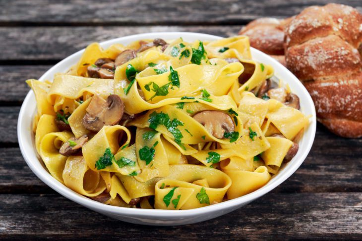 Most Popular Pasta Shapes - Pappardelle